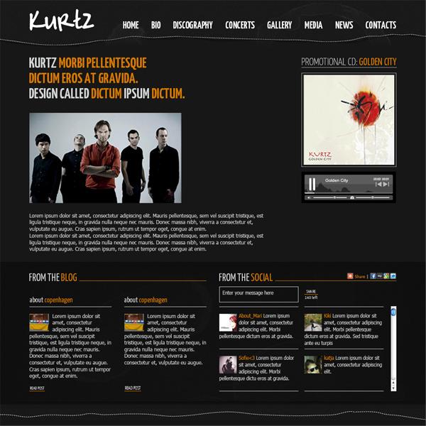 grafica, restyling sito web
