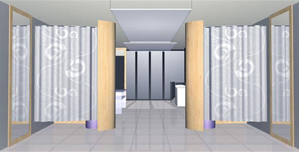 concept negozio, progettazione interni