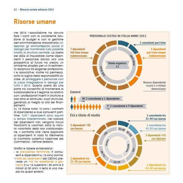 bilancio sociale, annual report