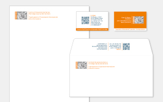 immagine coordinata, corporate identity, business card, logo, ngo, ong, onlus, cri graphics