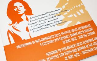 report, dossier, publication, pubblicazione, women's rights, diritti delle donne, ngo, ong, onlus, cri graphics