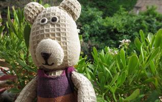 pupazzo, pupazzo fatto a mano, peluche, handmade Teddy bear, handmade soft toys