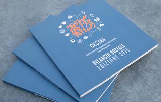 bilancio sociale; pubblicazione; annual report; report; publication; dossier; cestas; ong; ngo; onlus; cri graphics