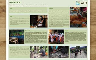 cartelli descrittivi, bacheca informativa, turismo, lago, etiopia